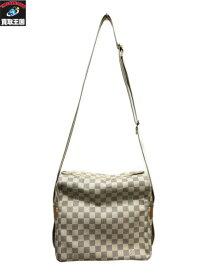 LV/ダミエ・アズール/ナウ゛ィグリオ/N51189/SR4077 ホワイト ルイウ゛ィトン/Louis Vuitton【中古】
