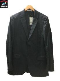 Calvin Klein カルバンクライン ストライプ 2B テーラードスーツジャケット 40【中古】