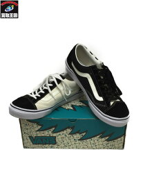 VANS×BILLYS/V36OG BILLYS/OLD SKOOL CRAZY CHECK/26.5cm 黒/白【中古】[▼]