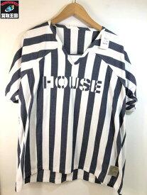 CYDERHOUSE サイダーハウス ラグラン HOUSE Tシャツ (size:M)【中古】[▼]