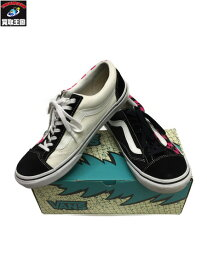 VANS×BILLYS/V36OG BILLYS/OLD SKOOL CRAZY CHECK/26.5cm PINK/BLK【中古】[▼]
