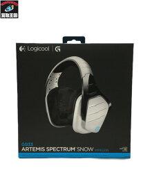 Logicool ロジクール G933 ARTEMIS SPECTRUM SNOW ワイヤレス サラウンド ゲーミングヘッドセット【中古】