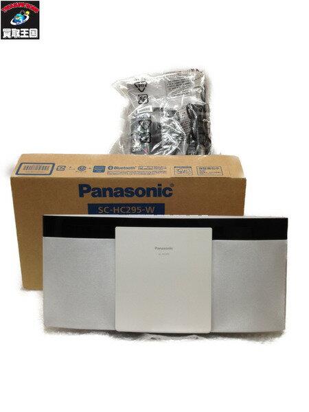 Panasonic コンパクトステレオシステム SC-HC295-W パナソニック【中古】