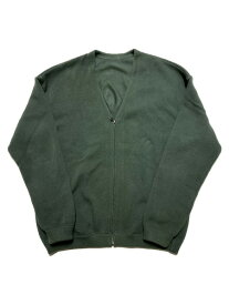 crepuscule moss stitch cardigan SIZE:2 グリーン【中古】