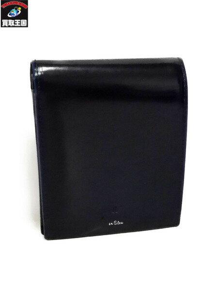 LANVIN en Bleu/二つ折り財布【中古】