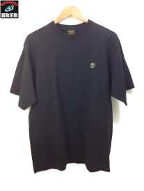 Timberland (SIZE/M) USA製 Logo Tシャツ BLK【中古】[▼]
