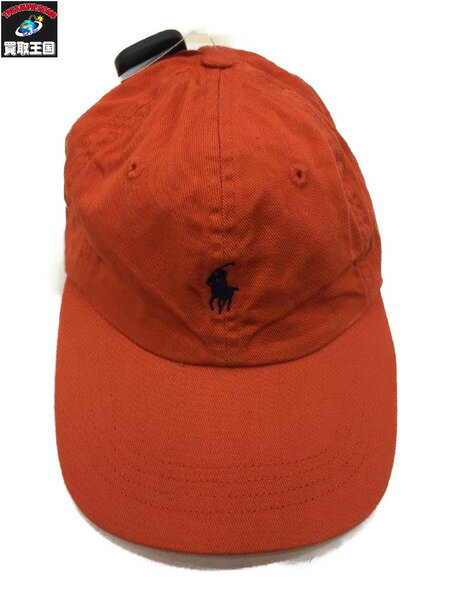 POLO RALPH LAUREN (SIZE/FREE) オレンジ CAP【中古】