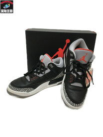 NIKE AIR JORDAN 3 RETRO OG 26cm【中古】