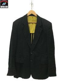 Yohji Yamamoto リネン/コットン ギャバジン オーバーテーラードジャケット SIZE 3【中古】