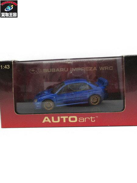 オートアート 1/43 SUBARU インプレッサ WRC 2003 BLUE【中古】