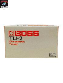 BOSS Chromatic Tuner TU-2 ボス クロマチックチューナー【中古】[▼]