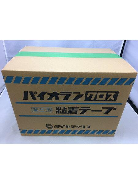 ダイヤテックス パイオランクロス粘着テープ グリーン 50?×25m 30巻 未使用品【中古】