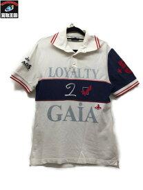 Vivienne Westwood ポロシャツ 白 L【中古】