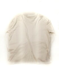 AURALEE SEAMLESS L/S BIG TEE size:4 WHITE【中古】