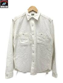 JELADO コットンシャツ ホワイト (XL)【中古】
