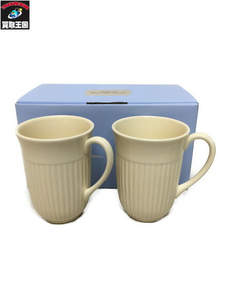 WEDGWOOD EDME Queen Ware Collection マグ セット【中古】