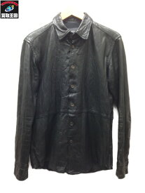 cathy jane ラムレザーシャツ (1) ブラック【中古】[▼]