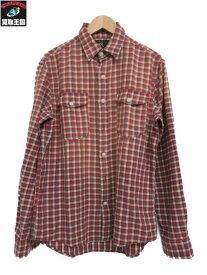RRL フラップポケット チェックシャツ (M)【中古】