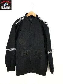 24karats コットン ワッペン レーシングジャケット S 453512 BLK【中古】
