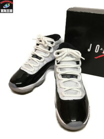 NIKE AIR JORDAN 11 RETRO 378037-100 (26.5cm)【中古】