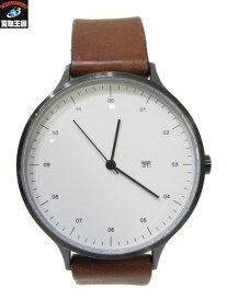 INSTRMNT/レザーベルト/クォーツ/インストゥルメント/腕時計【中古】