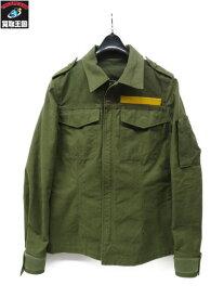 BACKLASH 09AW ミリタリージャケット 1047-05 バックラッシュ テントミリタリーシャツ 0【中古】[▼]