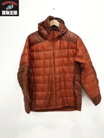 mont-bell 1101384U.L.Down Guide Parka(S)オレンジ【中古】