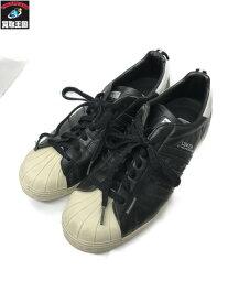 adidas×NEIGHBORHOOD SUPER STAR アディダス×ネイバーフット 26.5? ブラック【中古】