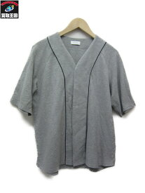 en route/アンルート 15SS コットンピケ ベースボールシャツ【中古】[▼]