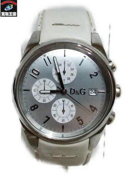 D&G 腕時計 電池なし動作未確認 損傷大【中古】