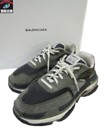BALENCIAGA 18SS TRIPLE S Trainers(29.0)506346 グレー バレンシアガ【中古】[▼]