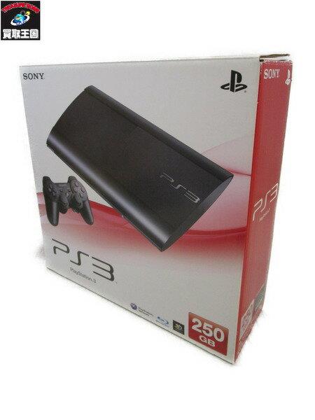 PS3 プレイステーション3 250GB CECH4000B チャコールブラック【中古】