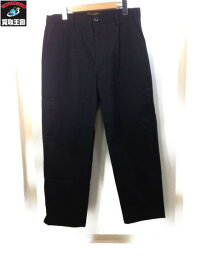 新品 19SS CLUCT CHINO BAGGY PANTS (34) BLK【中古】