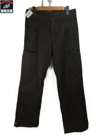 COMME des GARCONS HOMME カーゴパンツ カーキ (SIZE:SS)【中古】