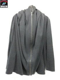 DOUBLE STANDARD CLOTHING ワッフルパーカー グレー【中古】