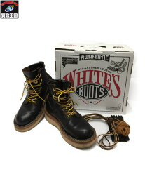 WHITE'S BOOTS NORTH WEST レースアップブーツ ダークブラウン 8E【中古】