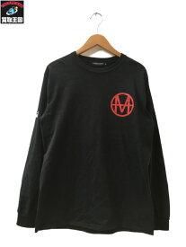 UNDERCOVER アンダーカバー MADCIRCLE ROSE L/S TEE ブラック M【中古】[▼]