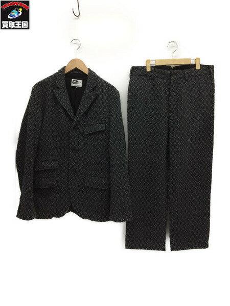 Engineered Garments 総柄ウールセットアップ【中古】