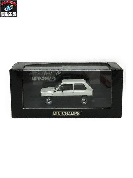 ミニチャンプス PMA 43 フィアット パンダ 34 1980 ホワイト【中古】