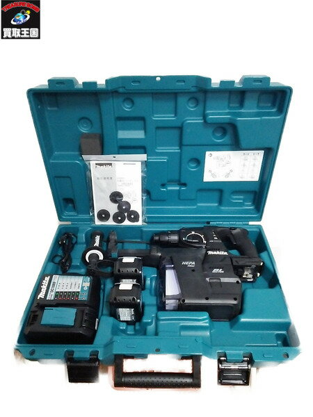マキタ18V6Ah 24mm充電式ハンマドリル 集塵システム付【中古】