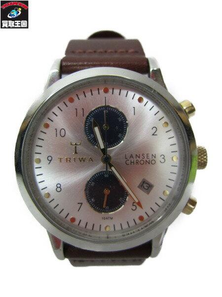TRIWA LANSEN CHRONO LCST115/クロノグラフ腕時計 QZ【中古】