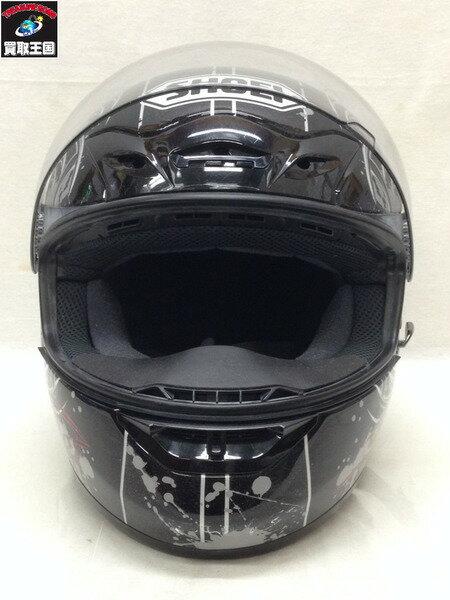 SHOEI フルフェイスヘルメット 黒 (L)【中古】