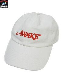 AWAKE NY キャップ 帽子 ホワイト【中古】[▼]