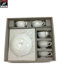 ノリタケ Noritake 大皿1枚 ティーカップ&ソーサー5組セット【中古】