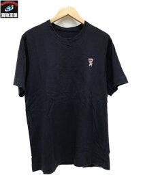 UNDERCOVER the Shepherd シェパード ワンポイント刺繍Tシャツ (3) ネイビー【中古】