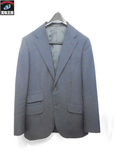 green label relaxing スーツ セットアップ 紺【中古】