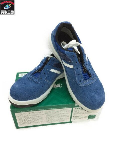 ミドリ安全 スニーカータイプ安全靴 G3550 ブルー サイズ26 1/2 EEE【中古】