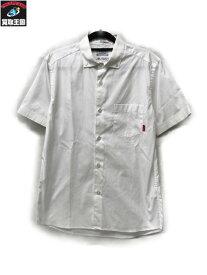 (W)TAPS×THOMAS MASON/PLAIN S/S半袖BDシャツ /白【中古】[▼]
