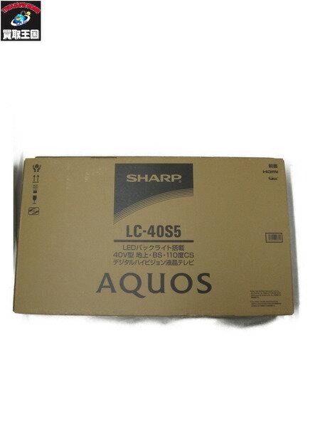 SHARP AQUOS アクオス LC-40S5 【中古】
