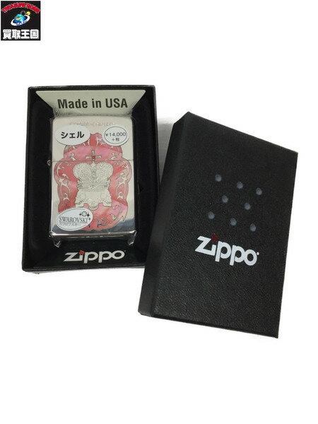 ZIPPO/クラウンオブスカル/シェル/スワロフスキー【中古】